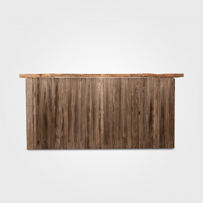 Bar - Rustic Bar with Timber Top