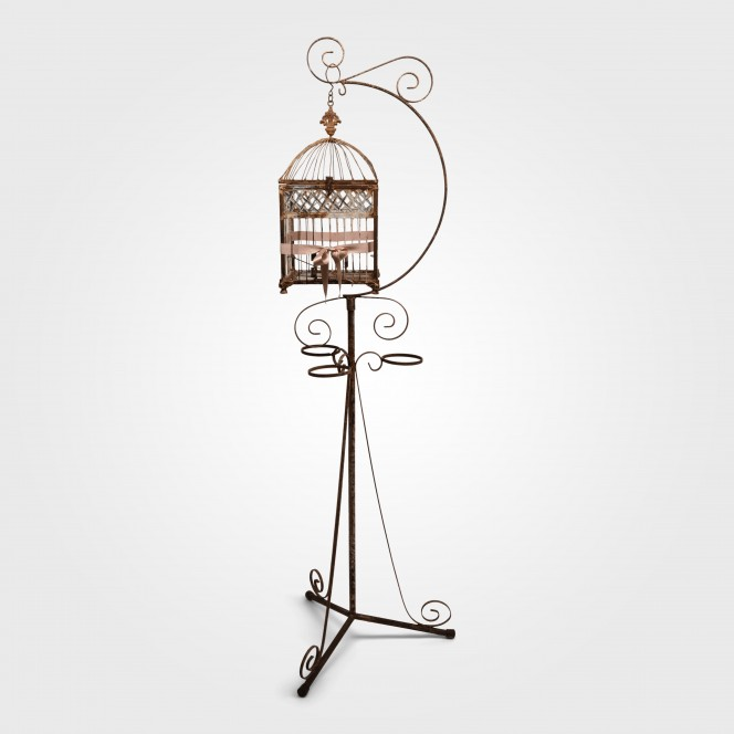 Bird Cage with iron stand