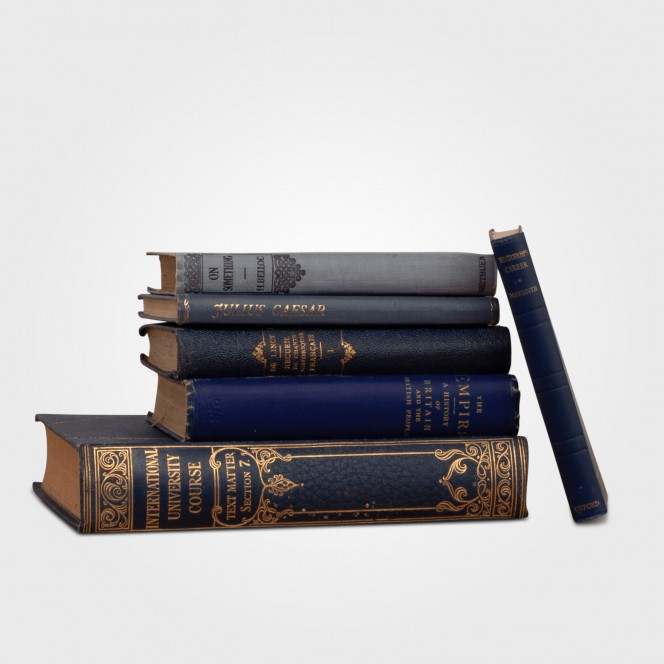 Books (Blue)