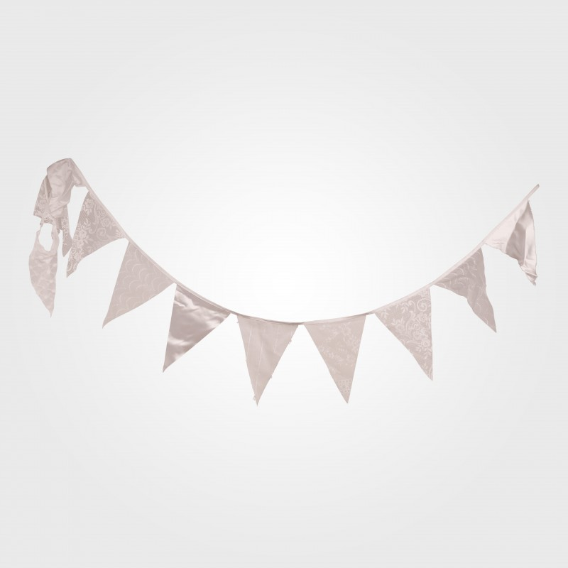Bunting - 10m Bunting White Lace