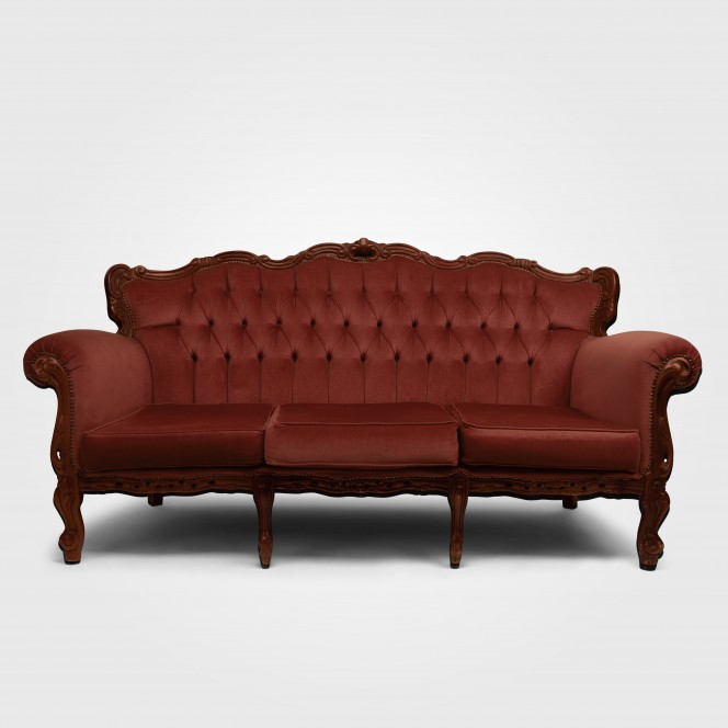 Chaise Lounge - Salmon Pink