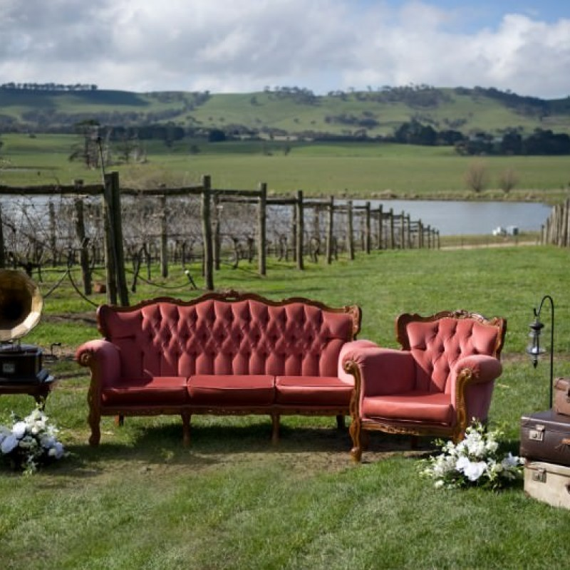 Chaise Lounge - Salmon Pink - Image #2