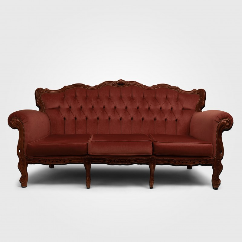 Chaise Lounge - Salmon Pink - Hero Image
