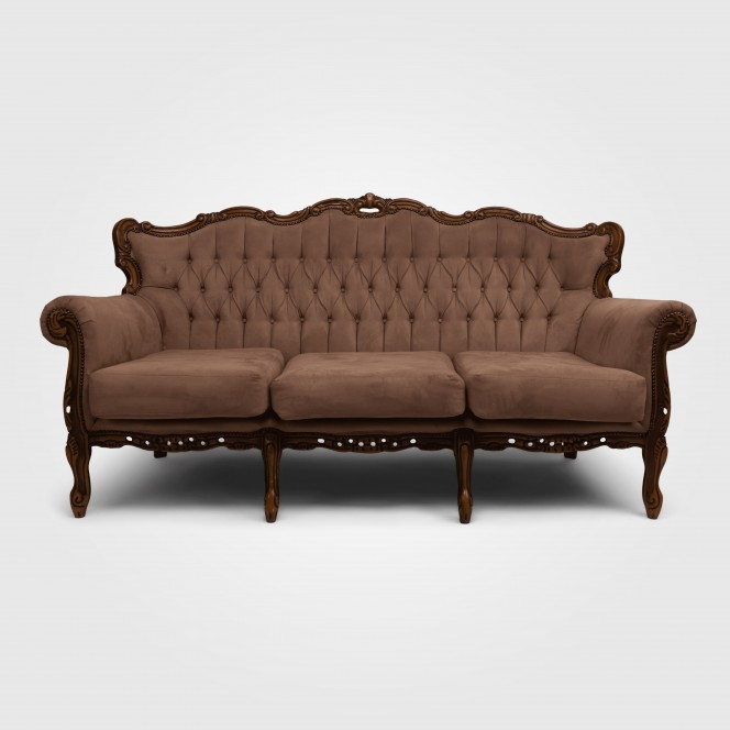 Chaise Lounge - Taupe