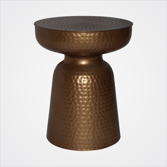Coffee Table Brass Drummed