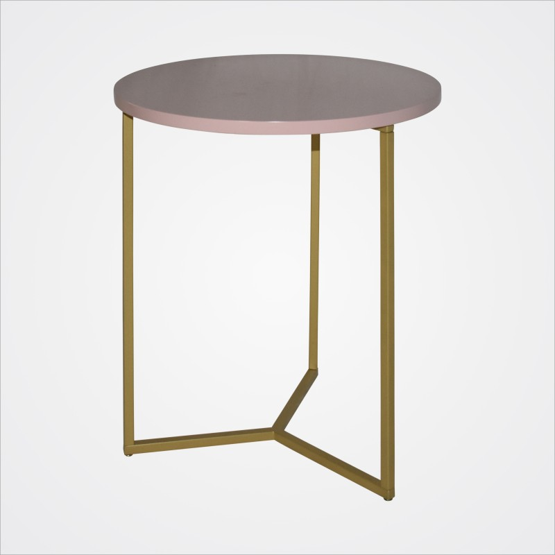 Coffee Table Gold/Pink - Hero Image