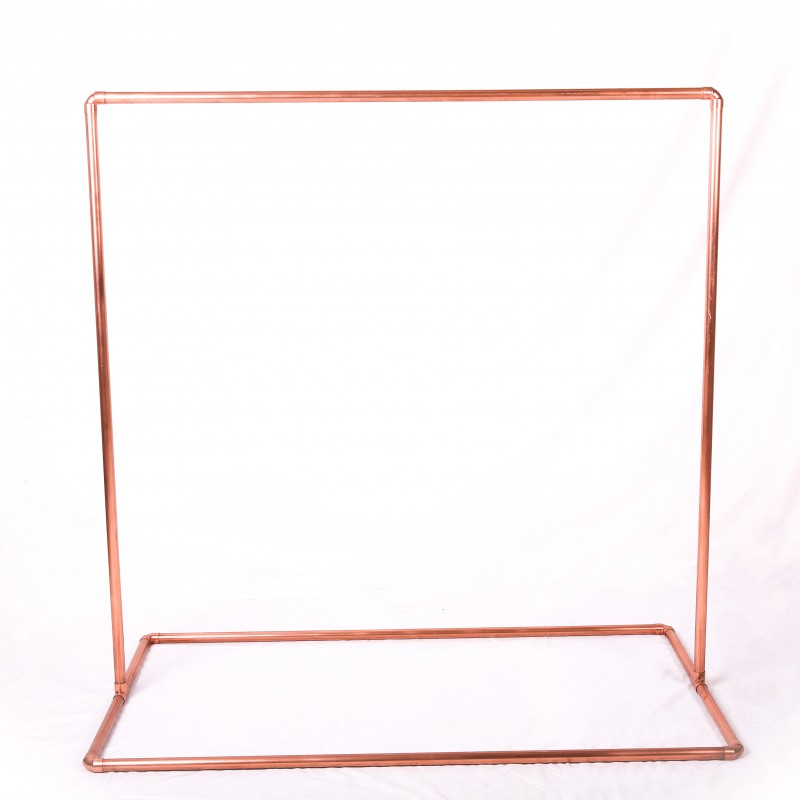 Copper signage stand - Hero Image
