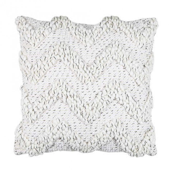 Cushion (Cream ZigZag)