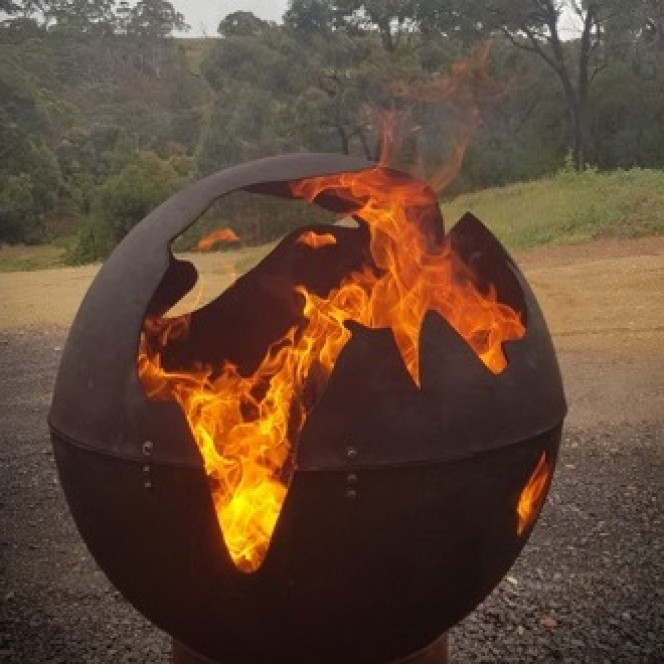 Iron Fire Pit