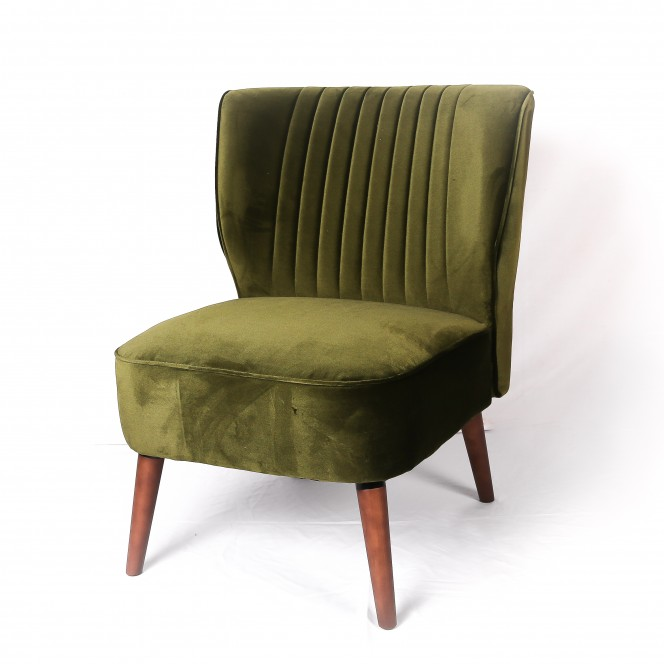 Loveseat Arm Chair Green