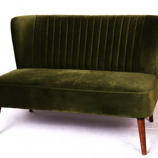 Loveseat Two Seater Green