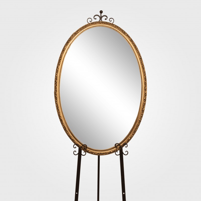 Mirror (Gold) Oval