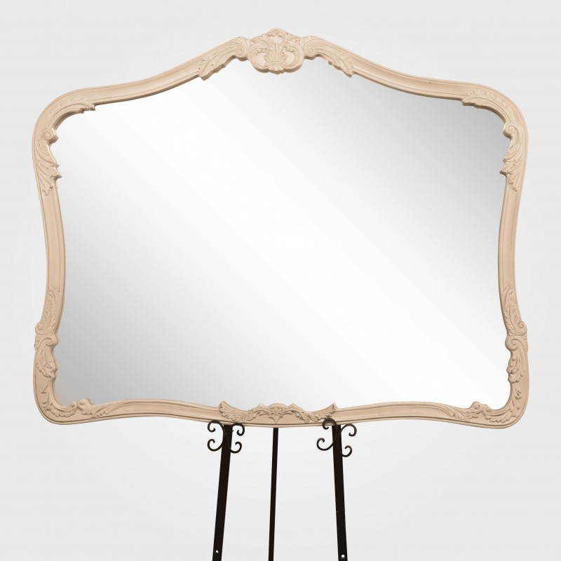 Mirror (White) French Provincial