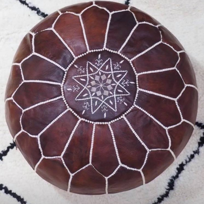Moroccan Pouf (round)