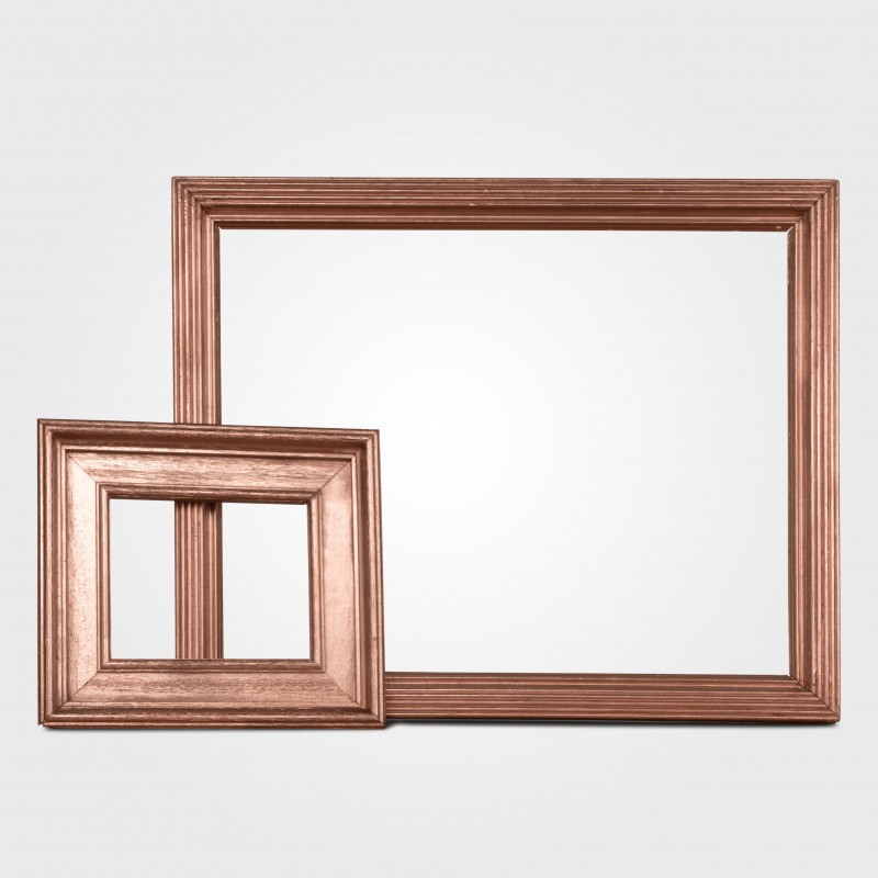 Picture frame rose gold large small