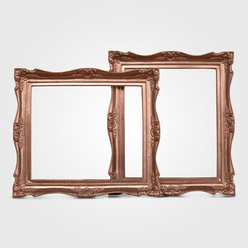 Picture frame rose gold medium