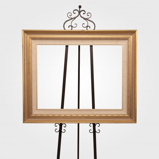 Picture Frame Vintage Gold Edge (medium)