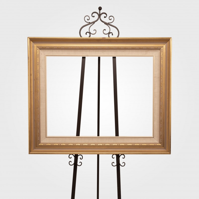 Picture Frame Vintage Gold Edge (medium) - Hero Image