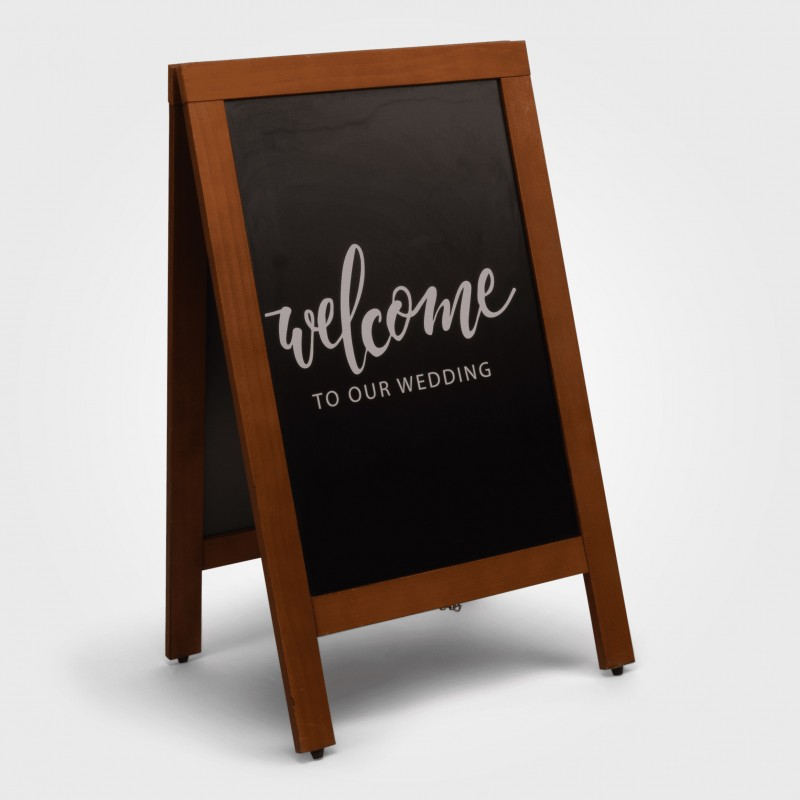 Sign - Welcome to our wedding A frame - Image #4