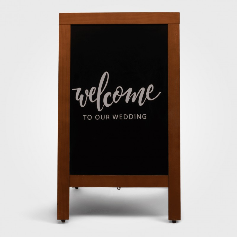 Sign - Welcome to our wedding A frame - Image #3