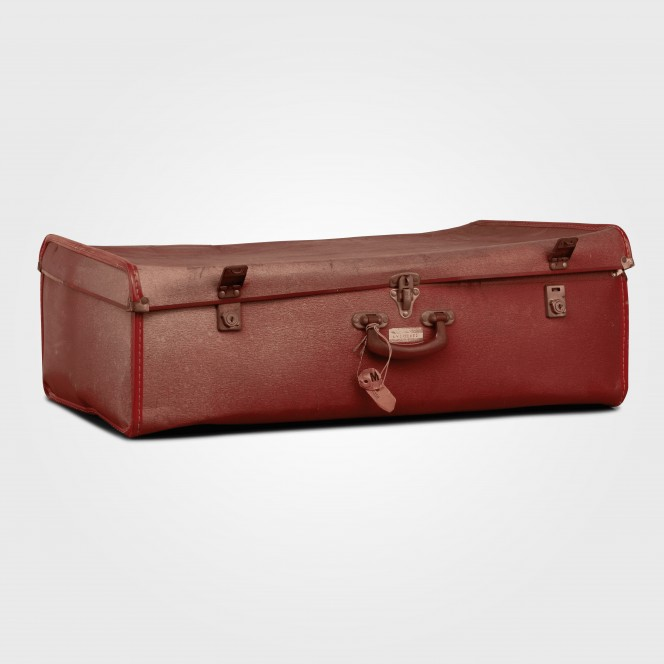 Suitcase Large Red