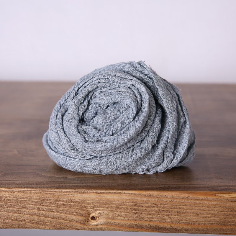 Table Runner - Cheese Cloth Grey - Image #2