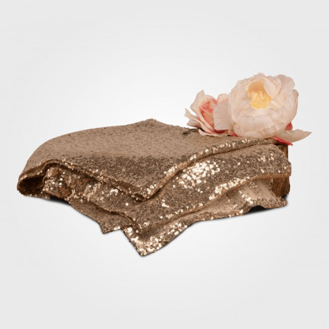 Table Runner - Gold Sequins