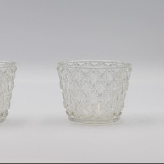 Tealight Candle Holders - Crystal