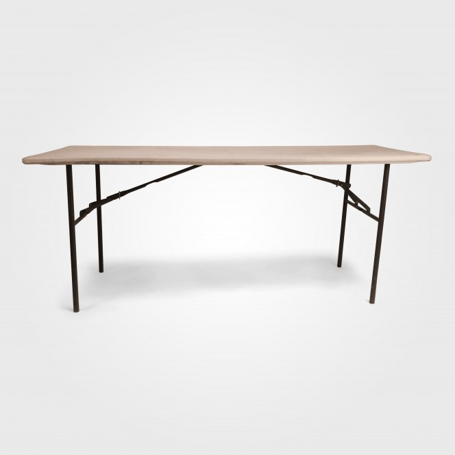 Trestle Table white plastic