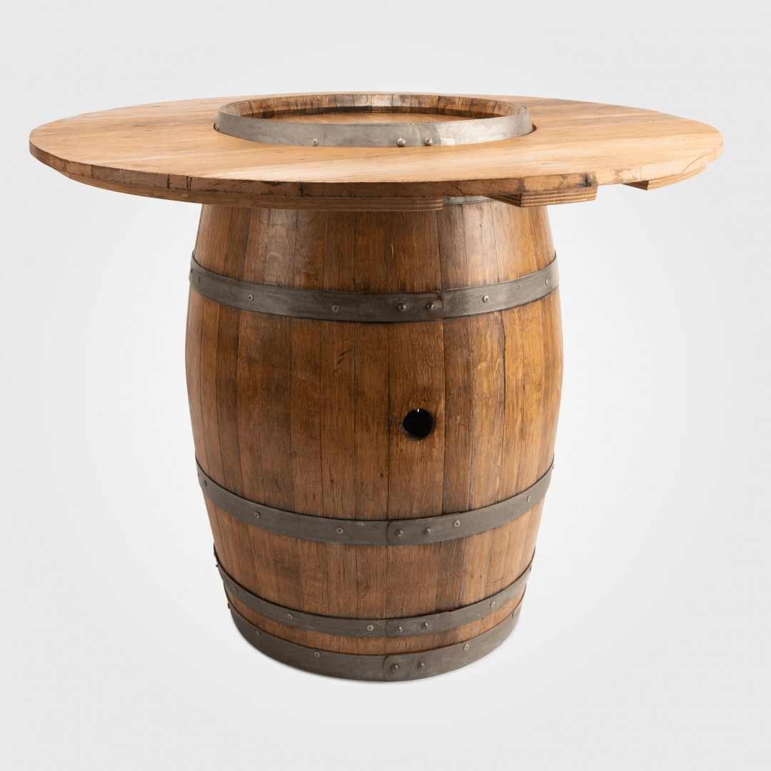 Strange Wine Barrel Cocktail Table Swans Lane Decor Hire Download Free Architecture Designs Scobabritishbridgeorg